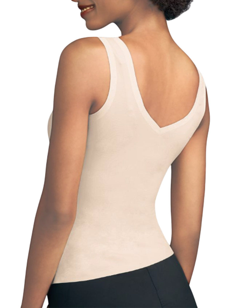 Paris Nude Back Maidenform Sleek Smoothers 2-Way Tank 2584