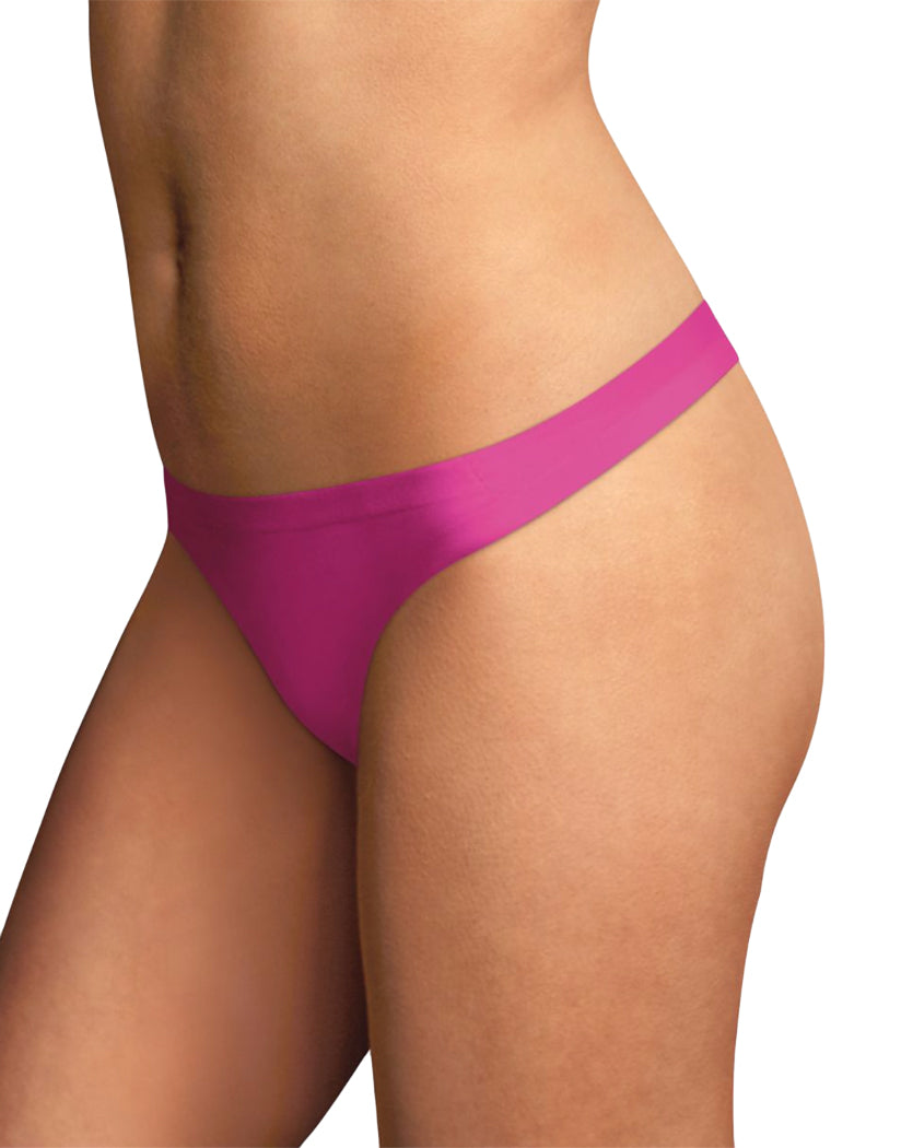 Magenta Zeal Front Maidenform Comfort Devotion Thong