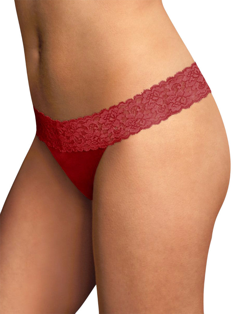 Camera Red-y Front Maidenform® Dream® Thong with Lace