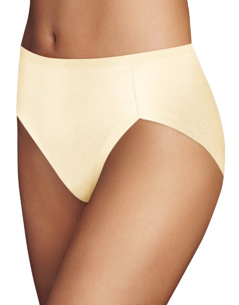 Ivory Front Maidenform Comfort Devotion High Leg Brief CDHLBF