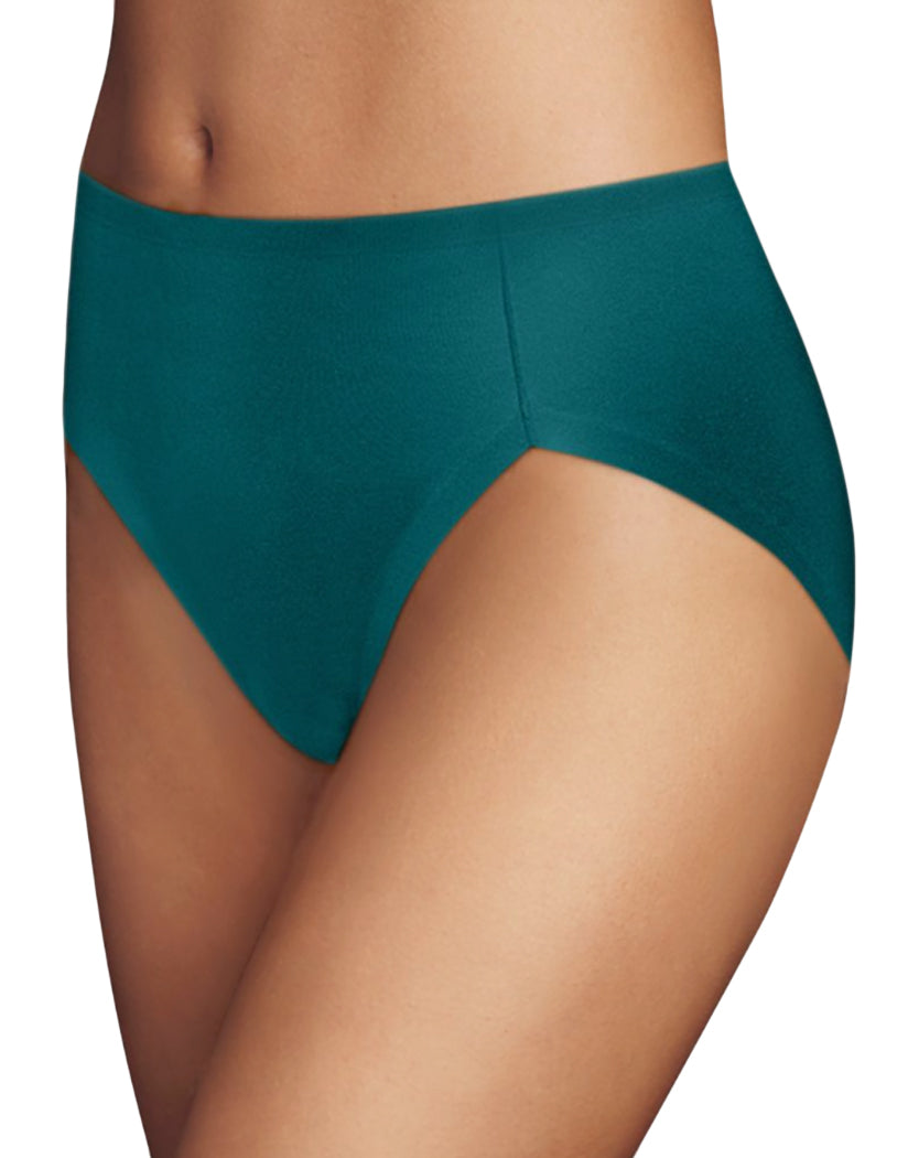 Jeweled Jade Front Maidenform Comfort Devotion High Leg Brief CDHLBF