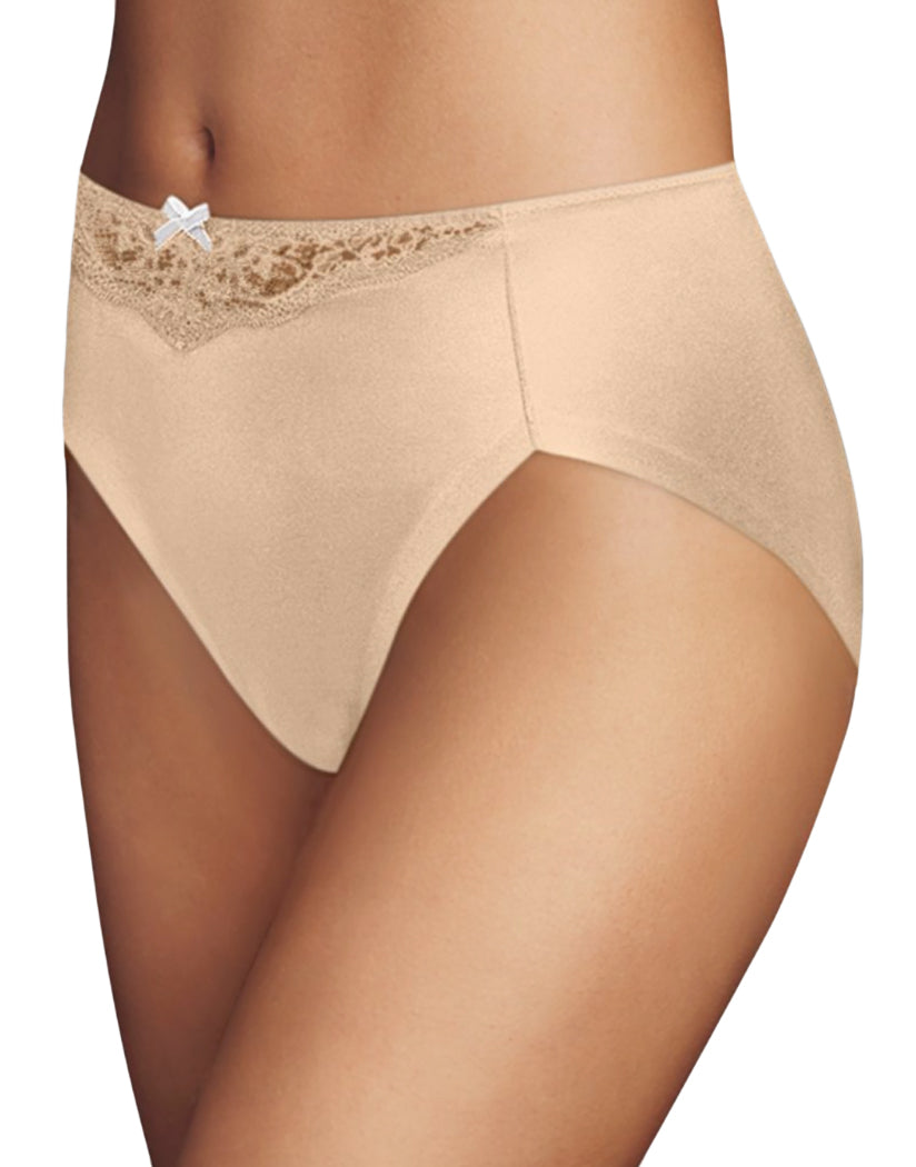 Latte Lift Lace Front Maidenform Comfort Devotion High Leg Brief CDHLBF