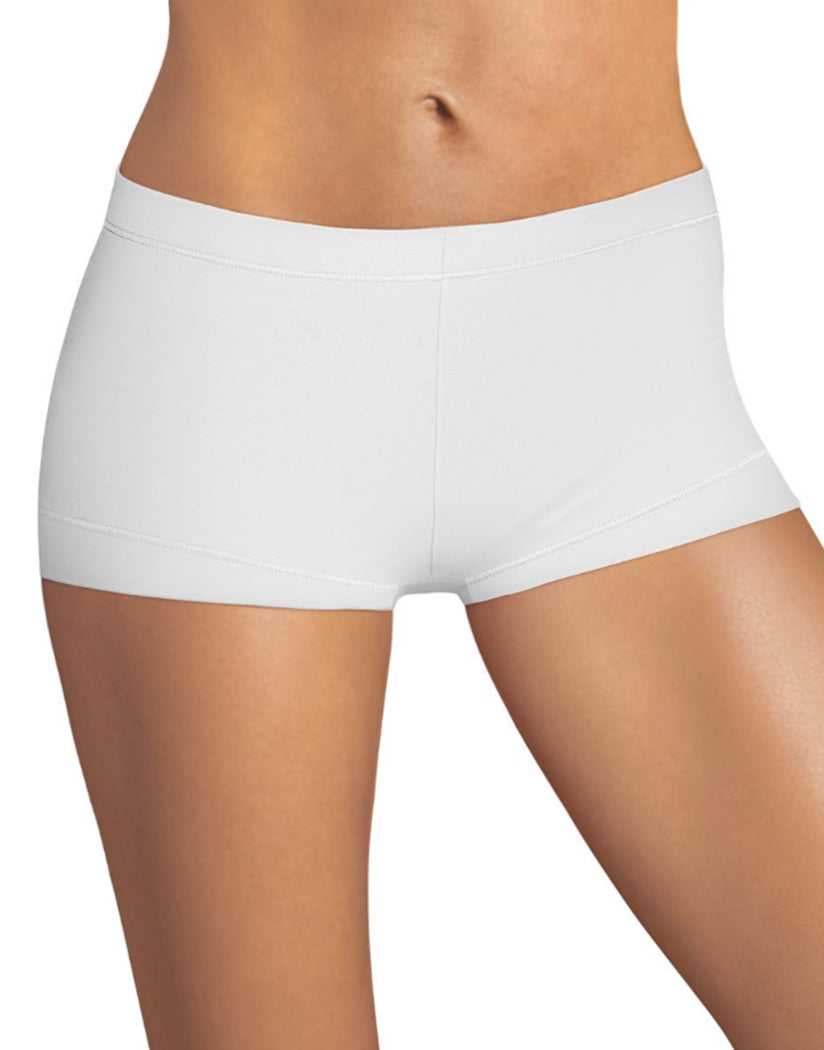 white boyshort panty for women