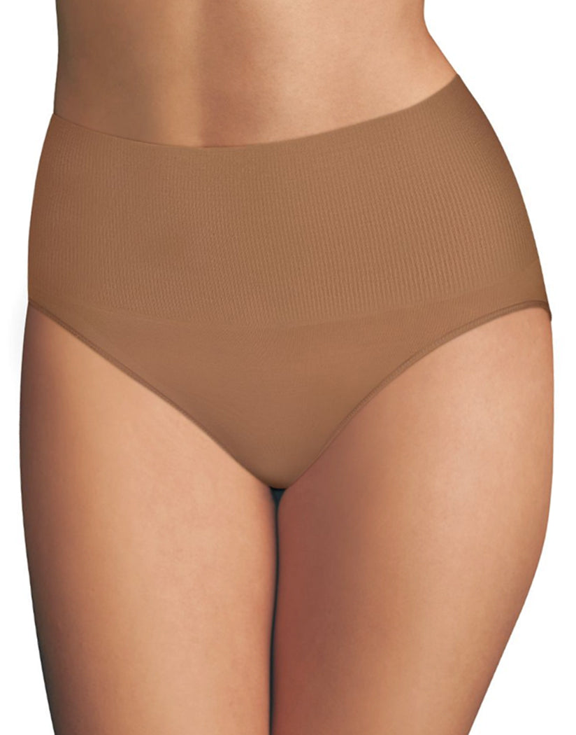 Nude/Caramel Front Maidenform Tame Your Tummy Brief DM0051