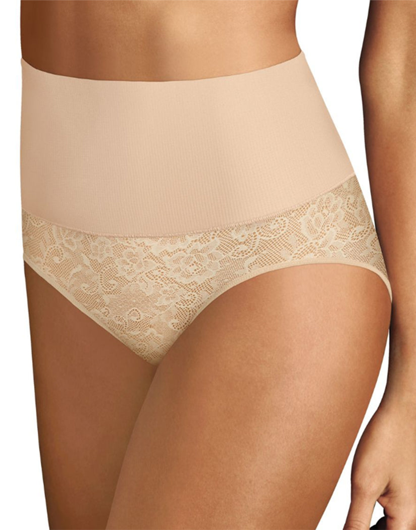 Nude/Transparent Lace Front Maidenform Tame Your Tummy Brief DM0051