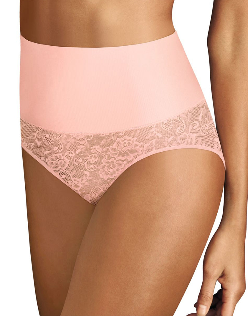 Pink Pirouette Front Maidenform Tame Your Tummy Brief DM0051