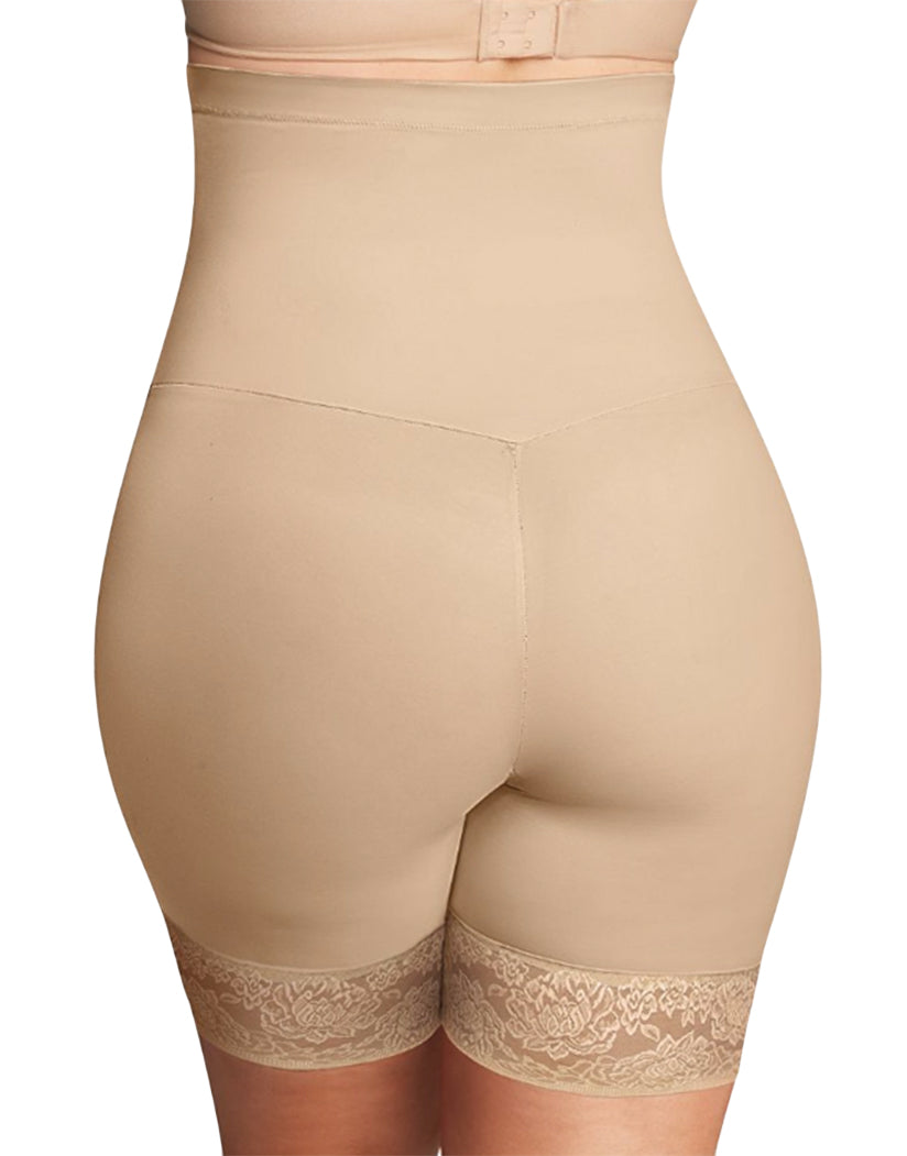 Body Beige Back Firm Foundations Curvy Hi Waist Thigh Slimmer