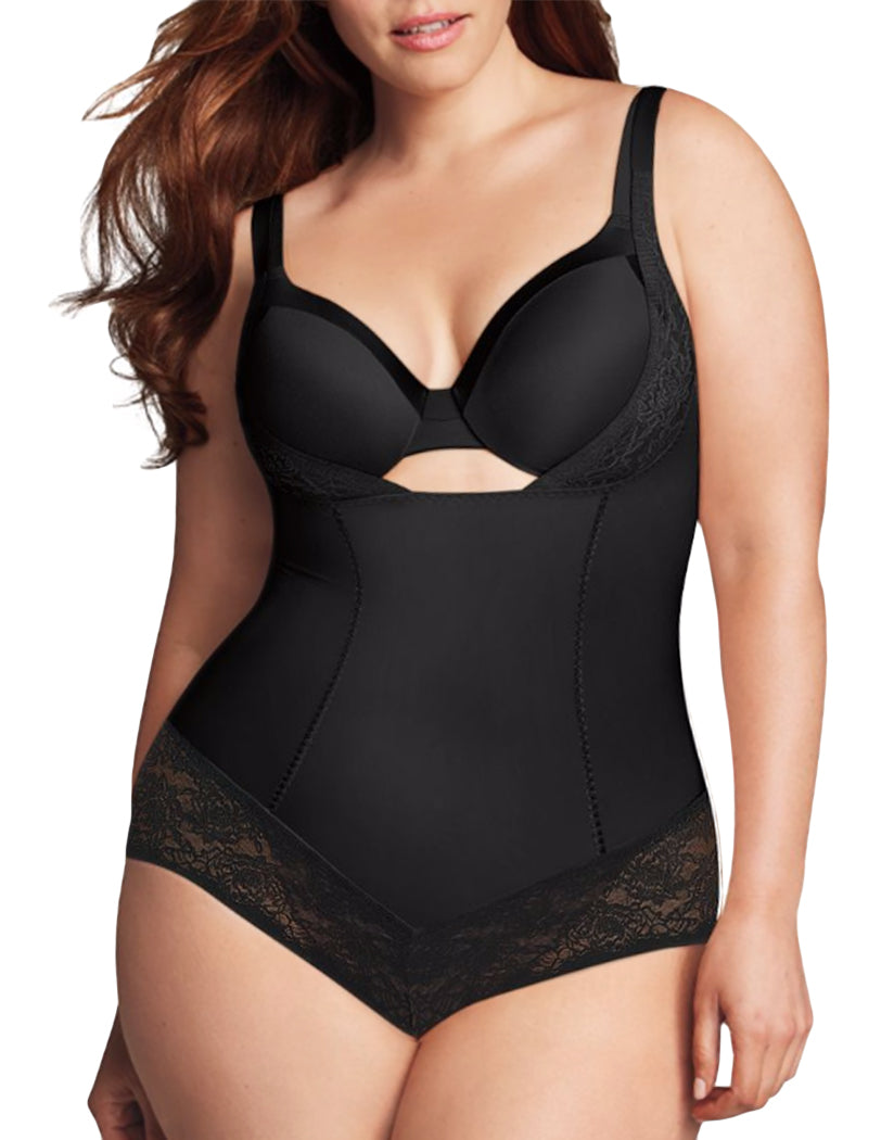 7715194ec6a Black Front Firm Foundations Curvy WYOB Bodybriefer