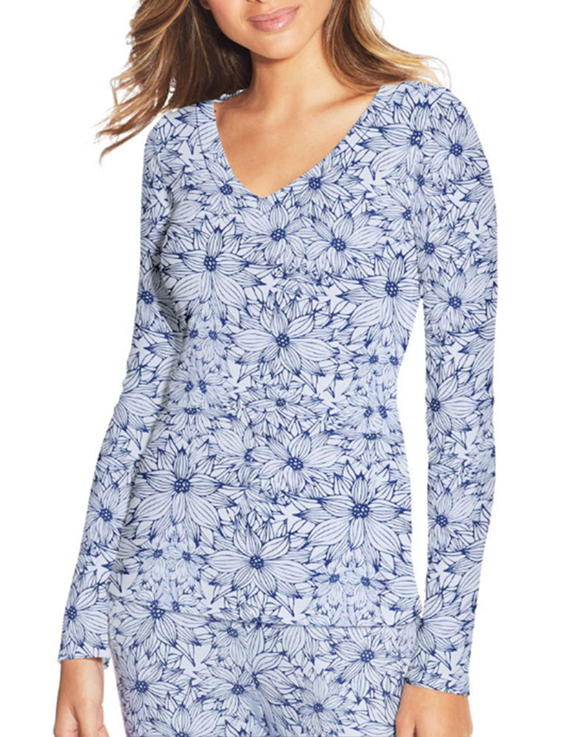 Floral Heather Front Maidenform Lounge Top MFW7131