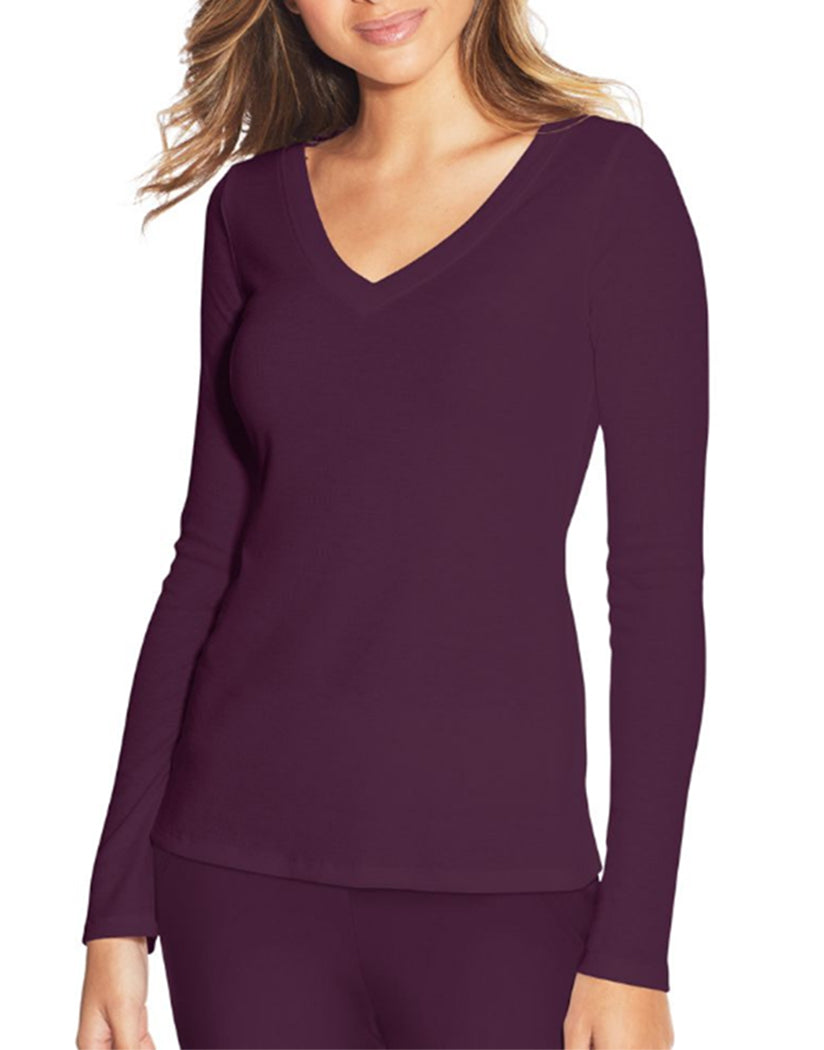Potent Purple Front Maidenform Lounge Top MFW7131