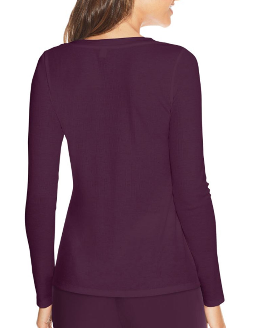 Potent Purple Back Maidenform Lounge Top MFW7131