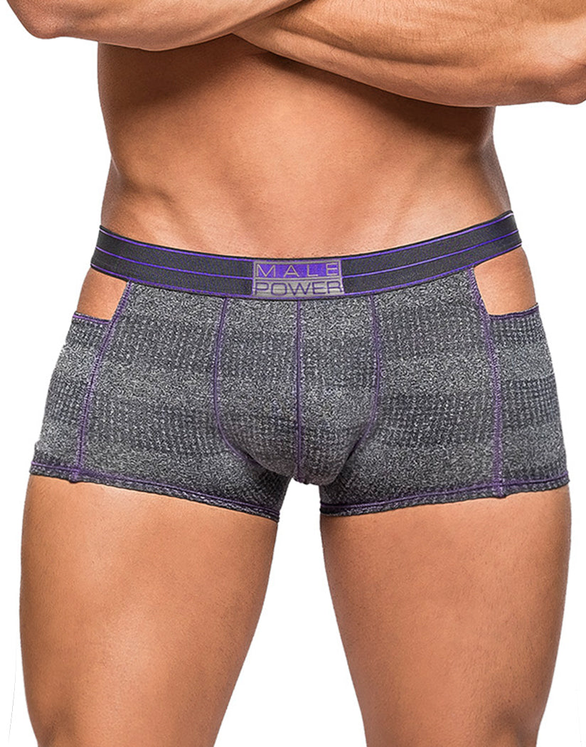 Heather Haze Front Male Power Heather Haze Cutout Short 124-244