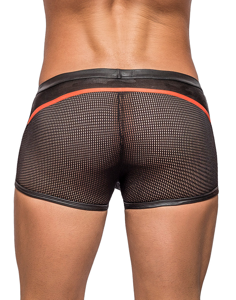 Black Grey Camo Back Male Power Camo Net Sport Trunk