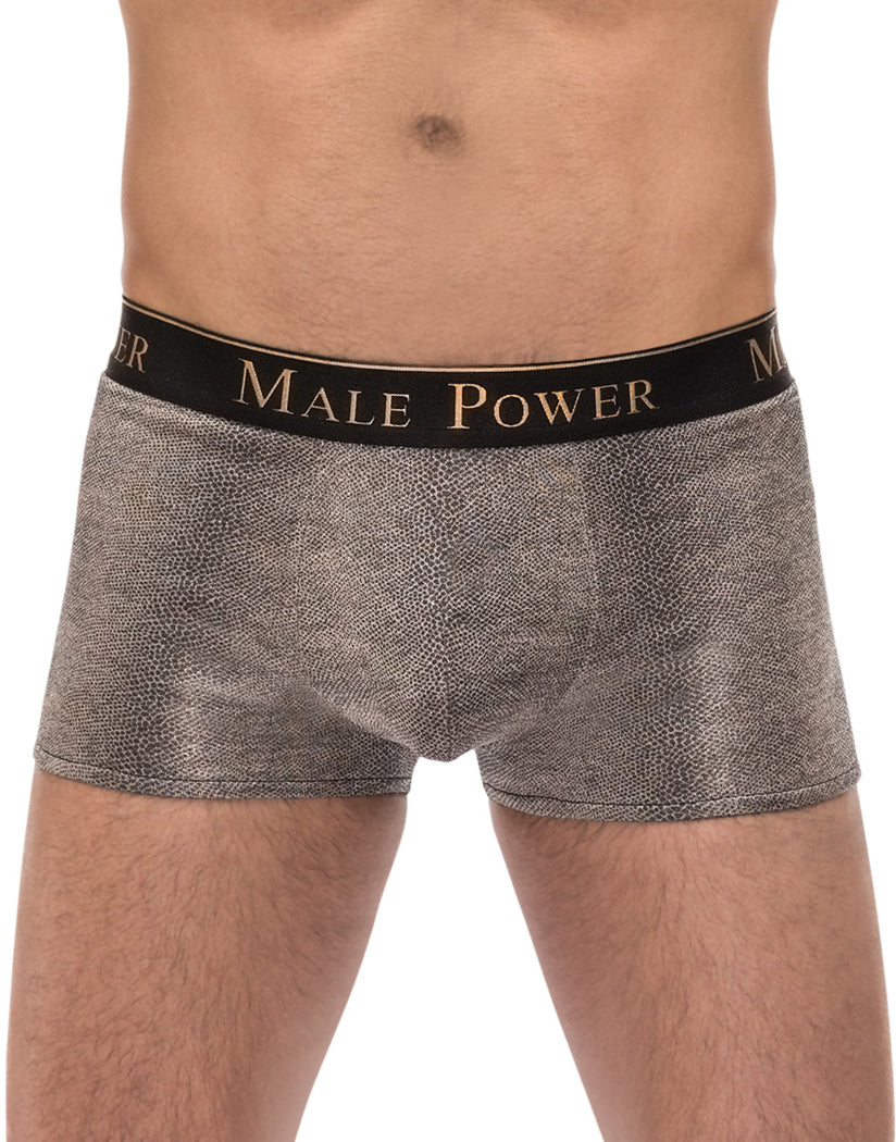 Grey Front Male Power Viper Pouch Short 145-248