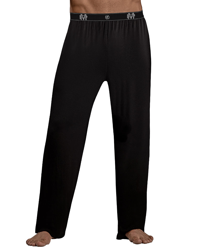 Black Front Male Power Bamboo Lounge Pant 188253