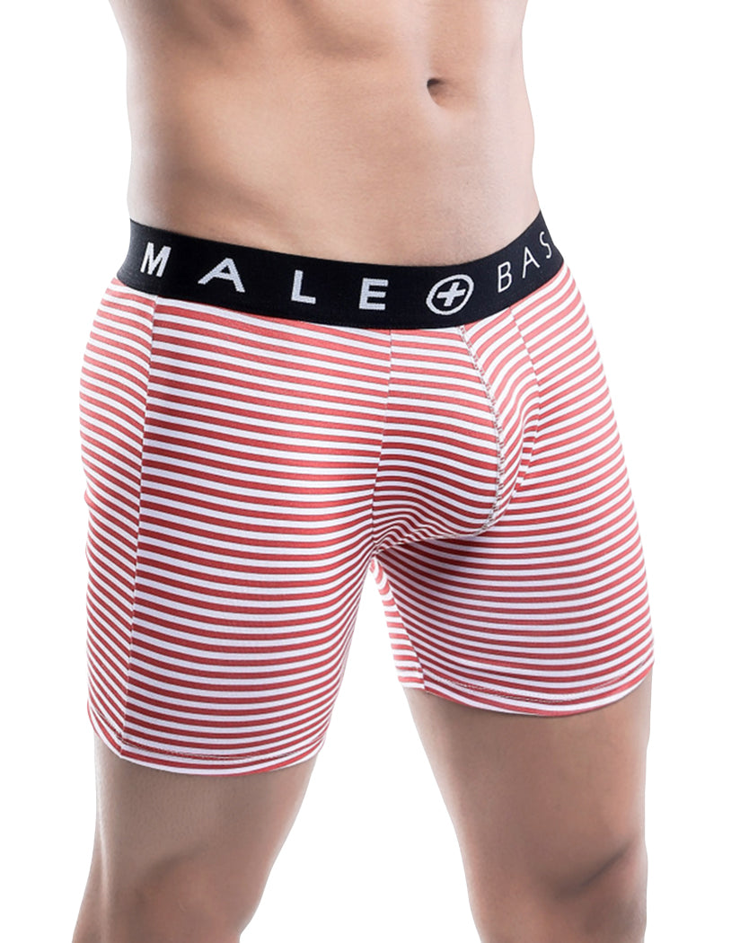 Black Waist Side Malebasics 3-Pack Classic Boxer Brief MBT02
