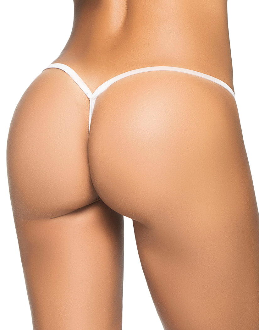 White Back Mapale Y-Back G-String 1048