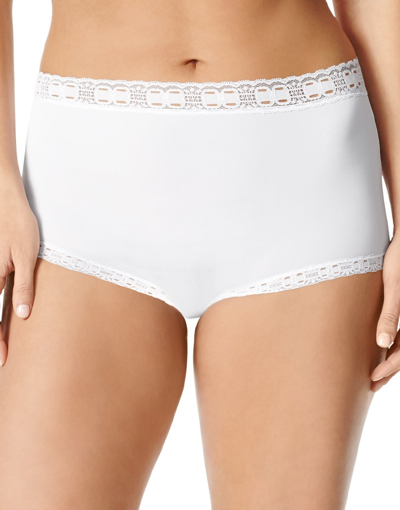 French Toast/Pale Blush/White Front Olga 3-Pack Secret Hugs Brief 873J3