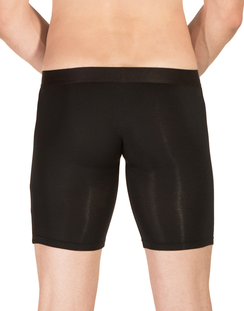 Black Back PrimeMan Long Boxer Brief