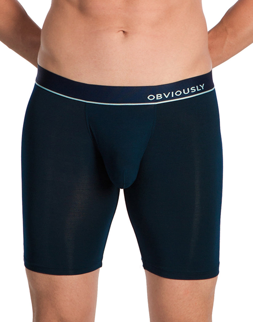 Midnight Front Obviously PrimeMan Boxer Brief 9 Inch Leg