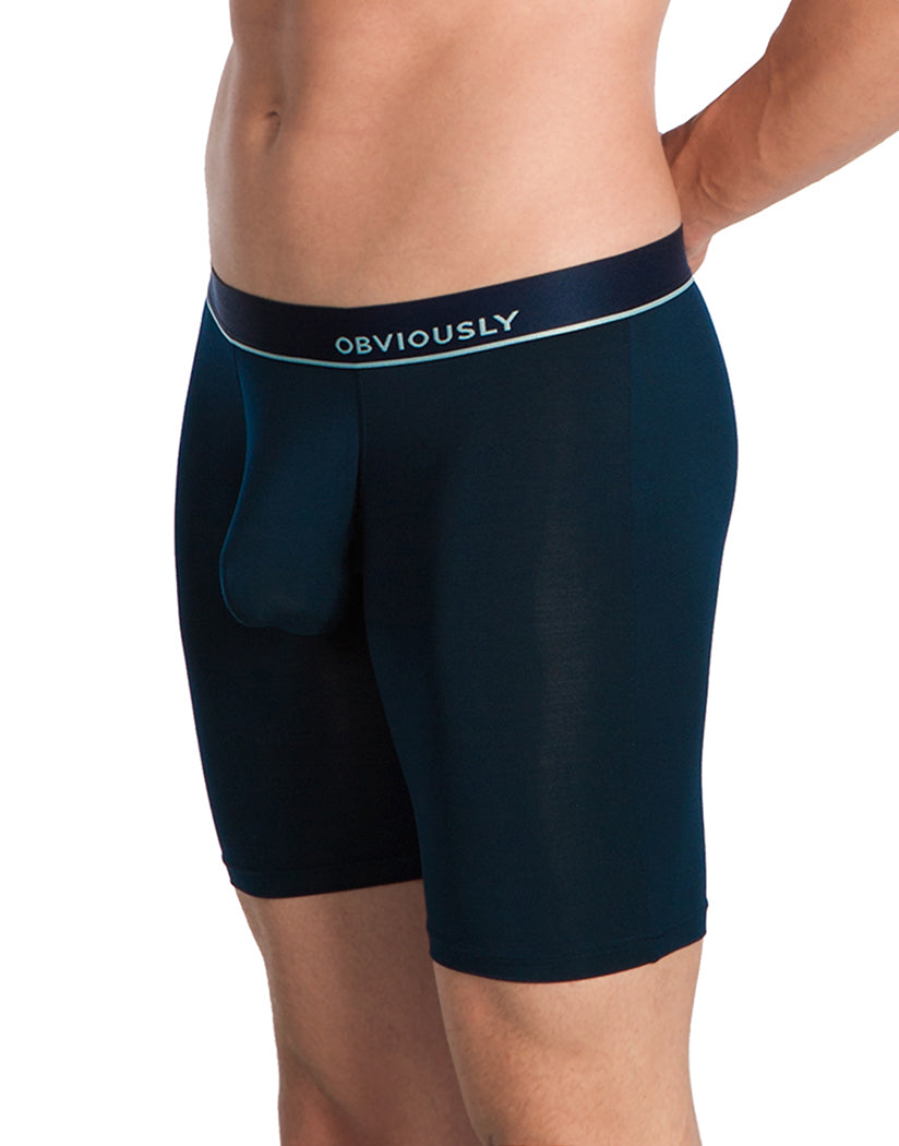 Midnight Side Obviously Men's PrimeMan Long Boxer Brief