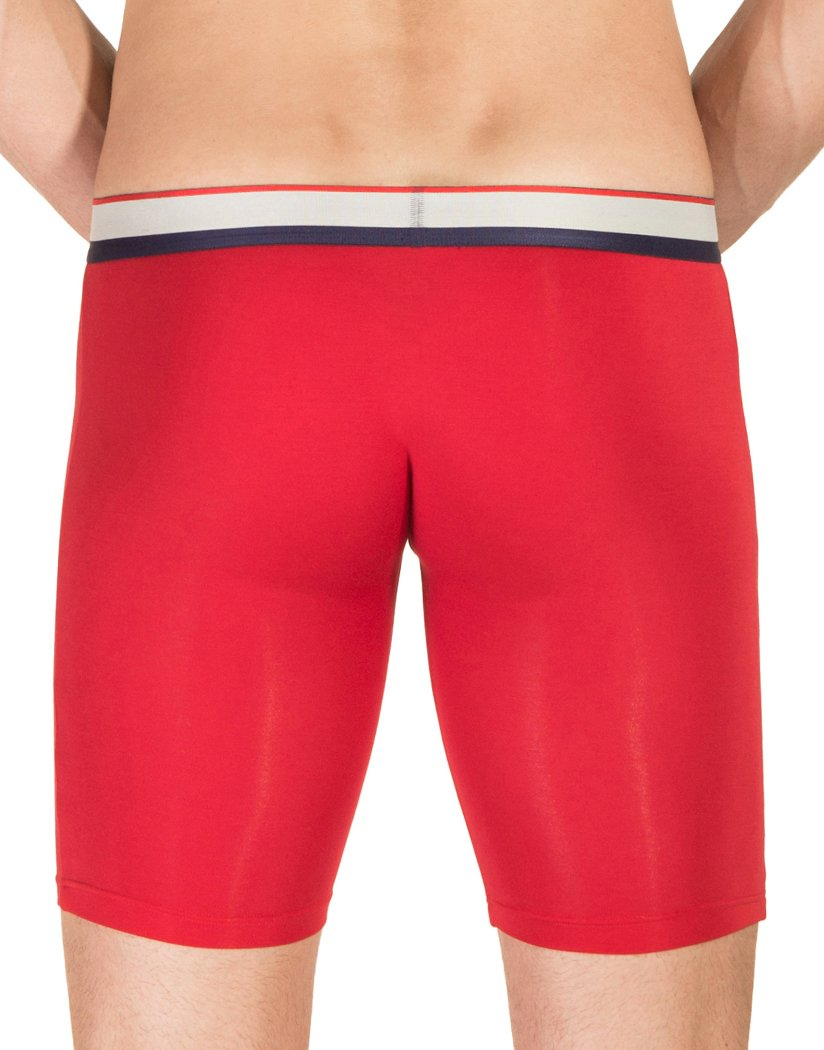 Red Back Obviously Men's PrimeMan Boxer Brief 9 Inch Leg A01