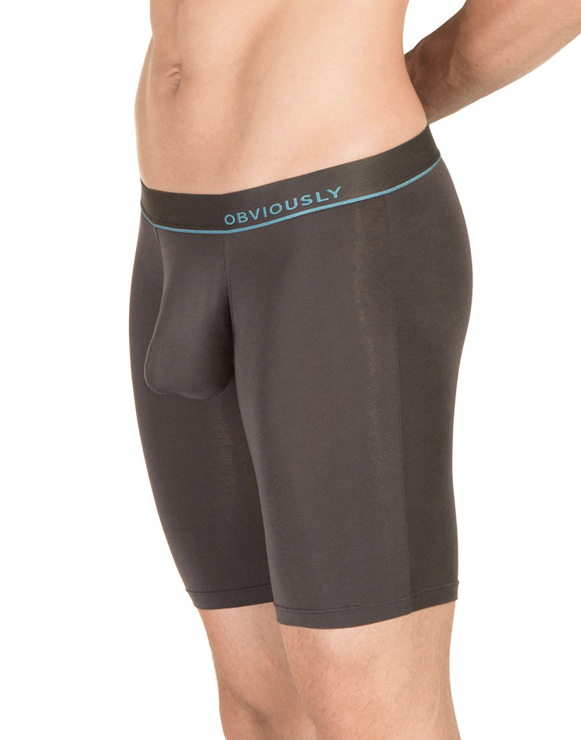 Titanium Side PrimeMan Long Boxer Brief