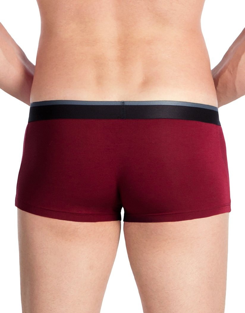 Maroon Back Obviously Men's PrimeMan Trunk