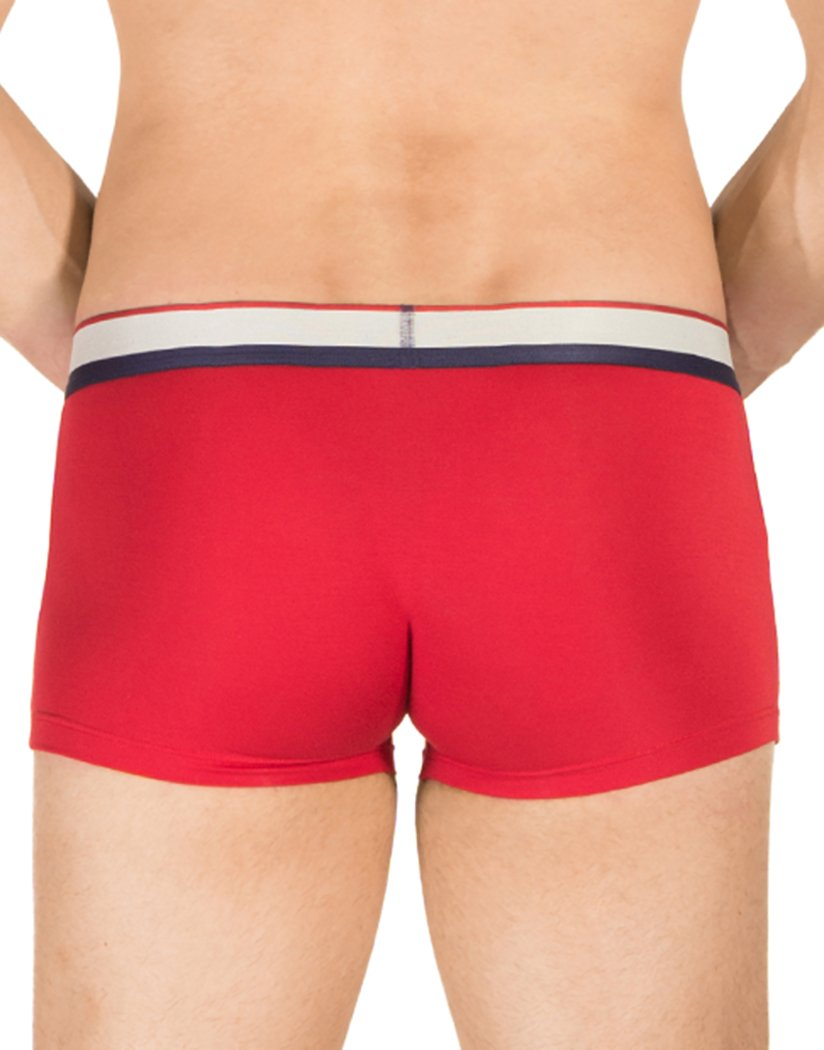 Red Back Obviously Men's PrimeMan Trunks Red A03