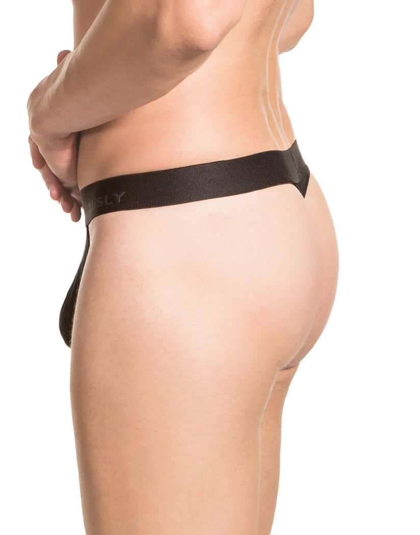 Black Back Obviously Men's PrimeMan Thong A06