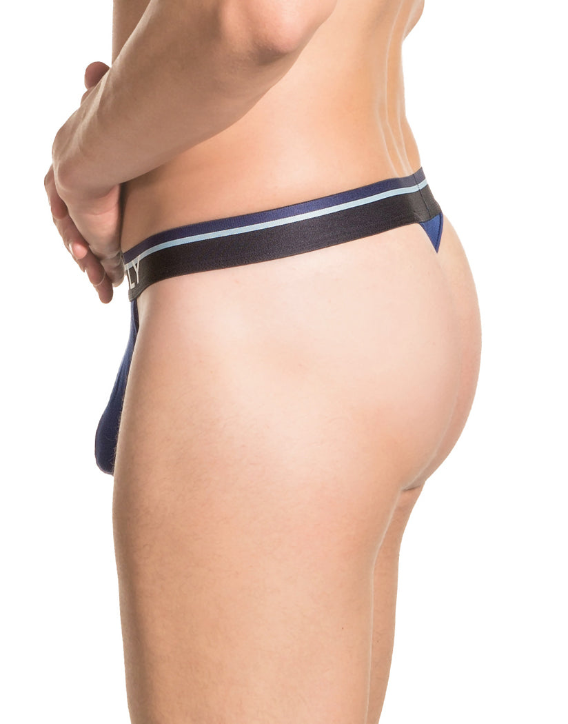 Navy Back Obviously Men's PrimeMan Thong A06