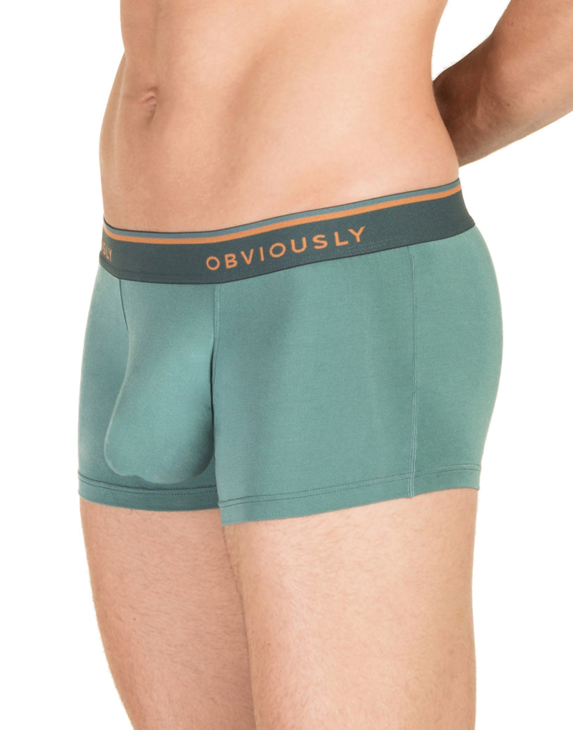 Teal Side Obviously Men's EveryMan Trunk B03