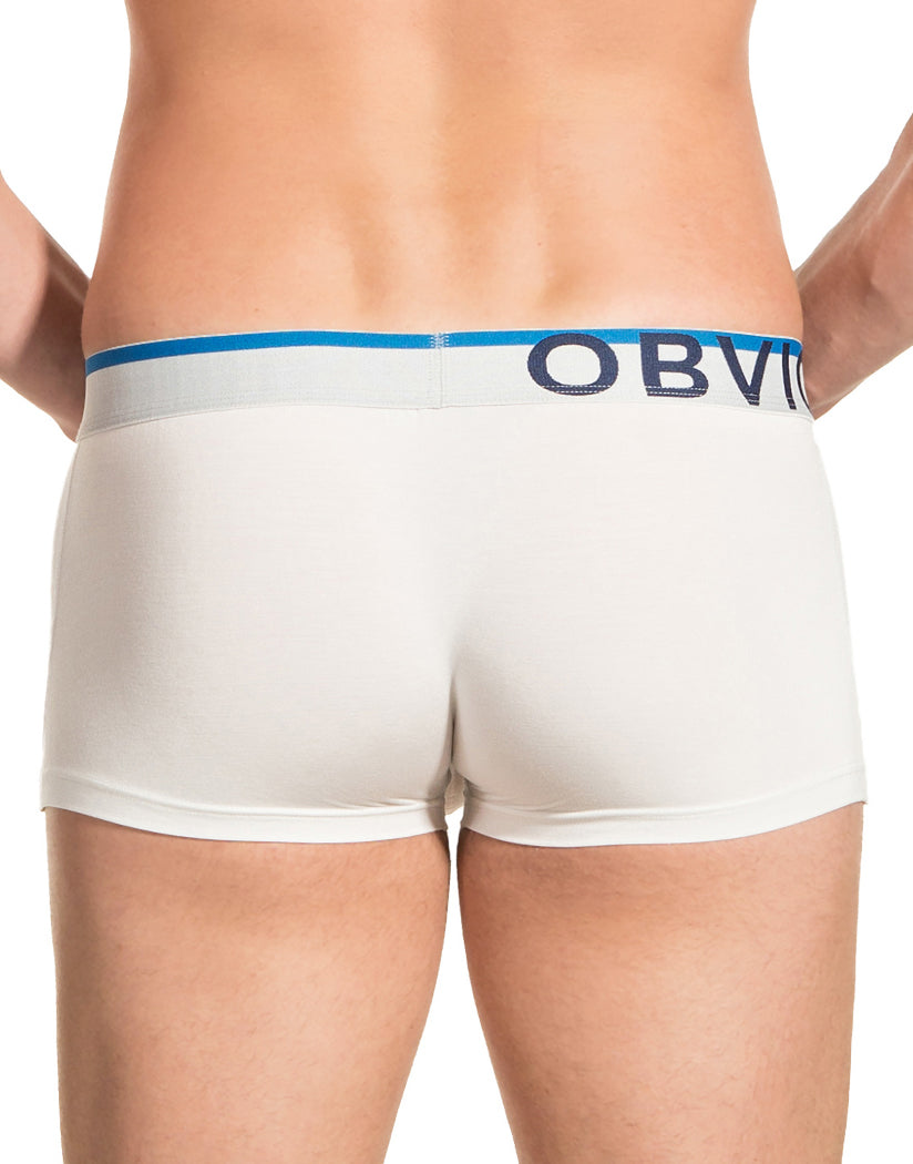 White Back Obviously Men's EveryMan Trunk B03