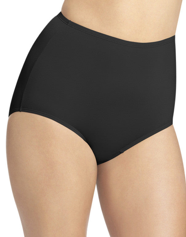 Black Front Olga Without a Stitch Micro Brief