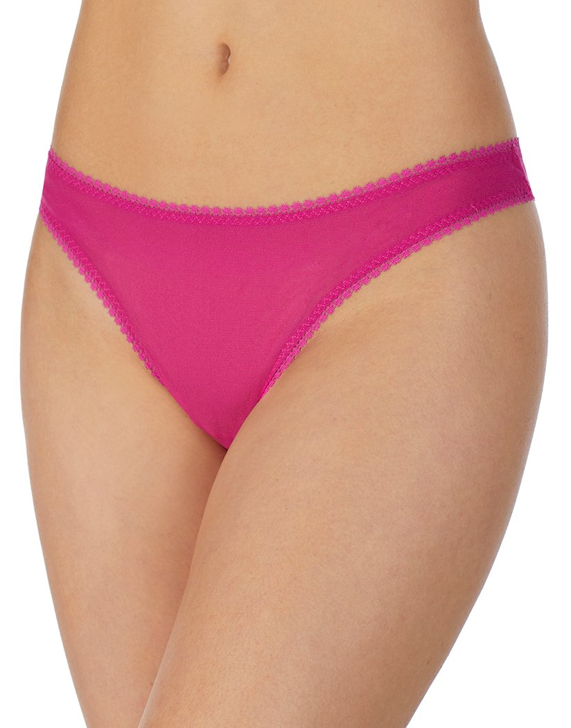 Peony Front On Gossamer Mesh Hip-G Thong - 3512