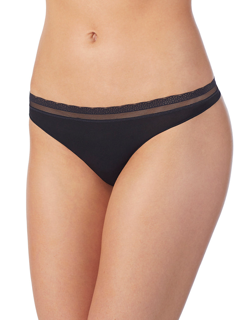 6defc813a9a3 Black Front OnGossamer Next to Nothing Micro Hip G Thong