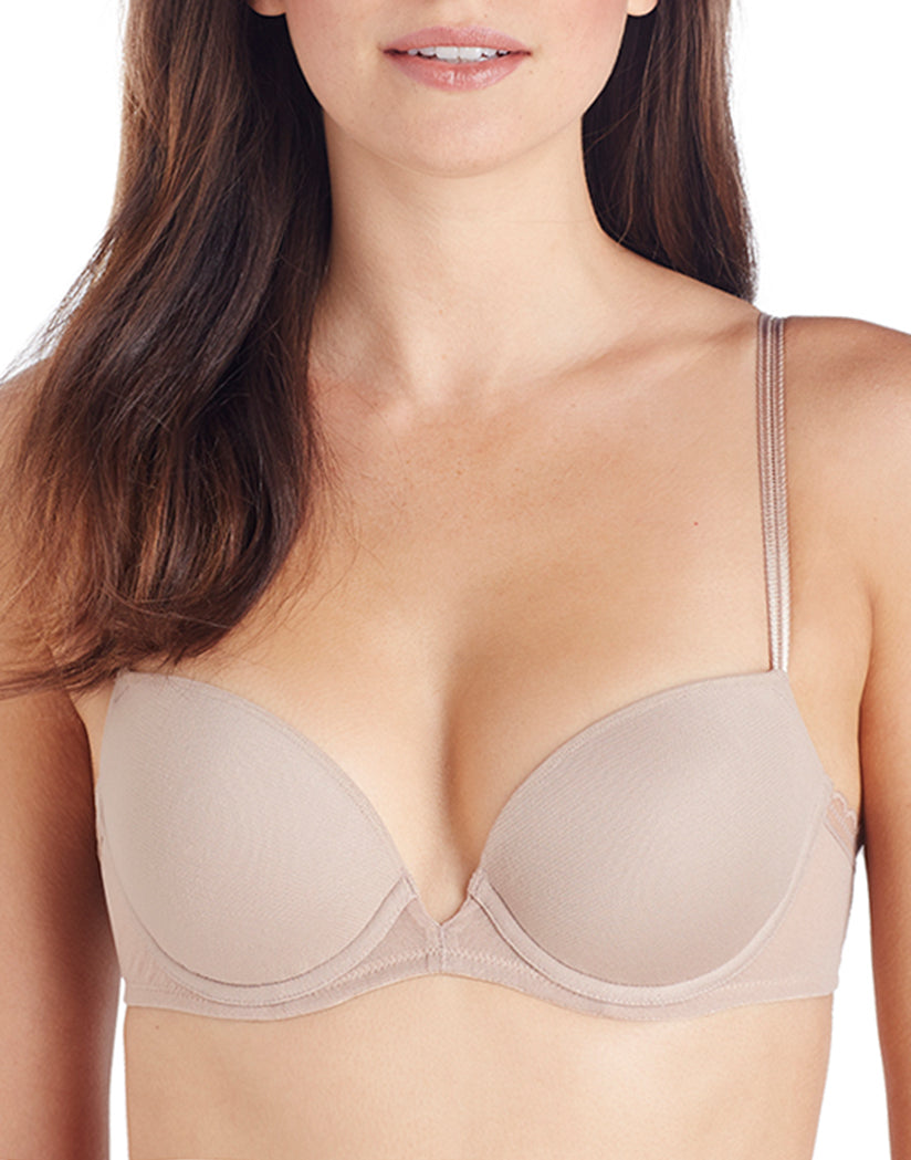 Mocha Front Next To Nothing Demi Plunge Bra
