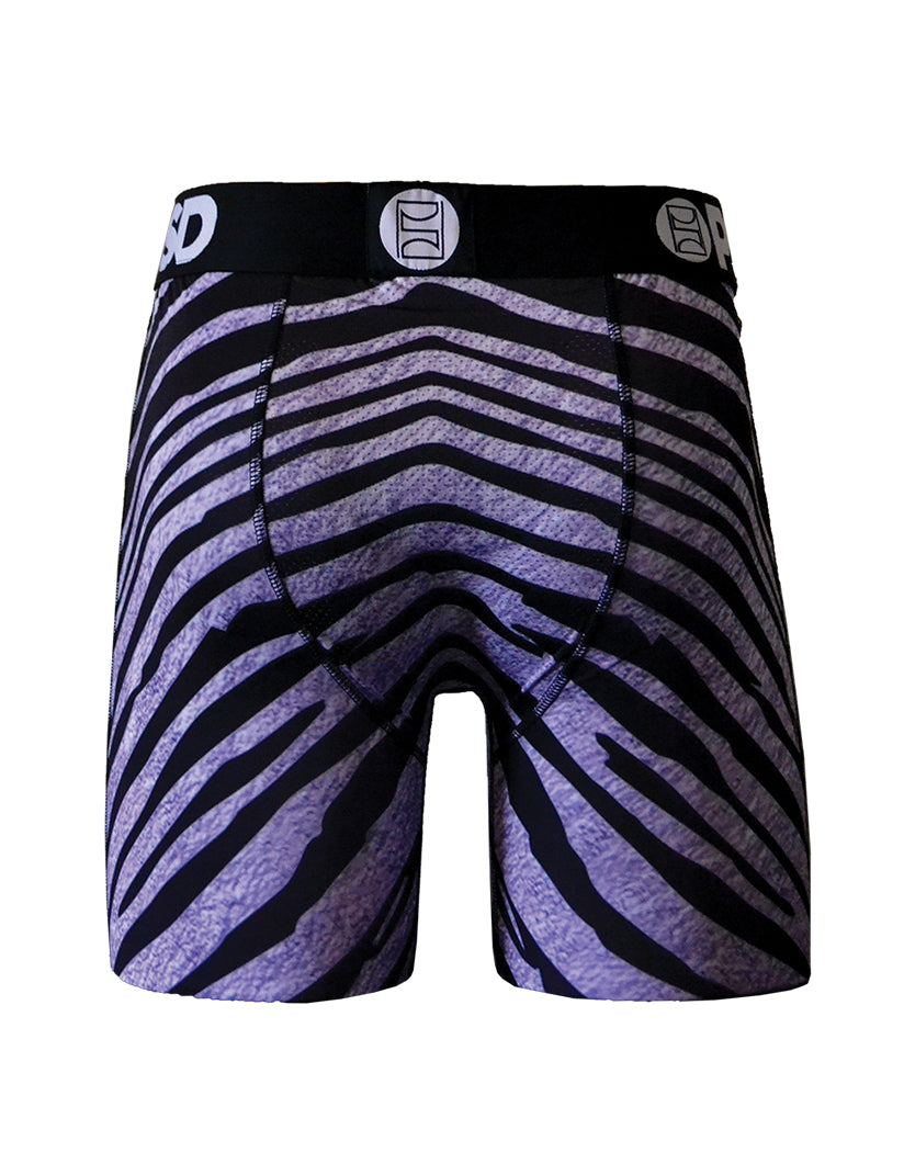 White Back PSD Raiders Zebra Boxer Brief