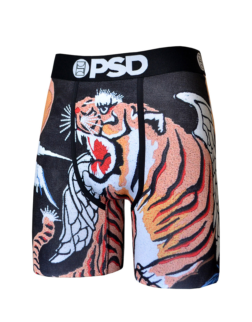 Black Other Souvenir Tiger Wings Boxer Brief