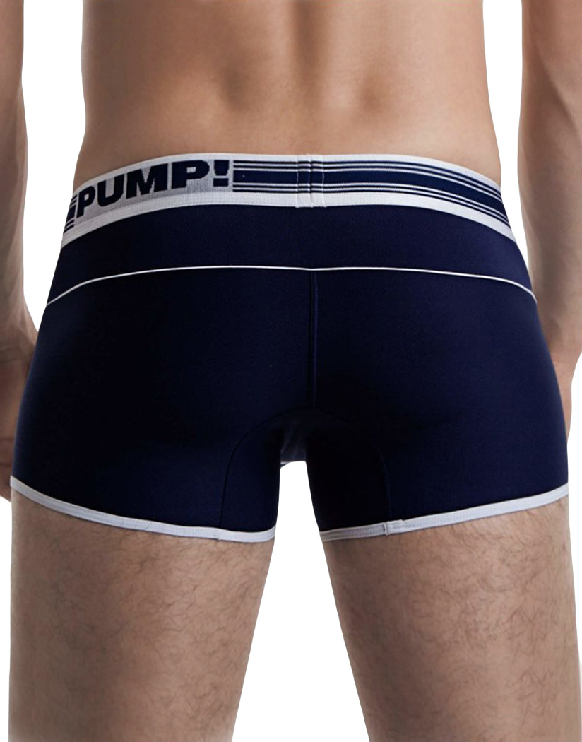 Navy Back PUMP! Free Fit Boxer Navy