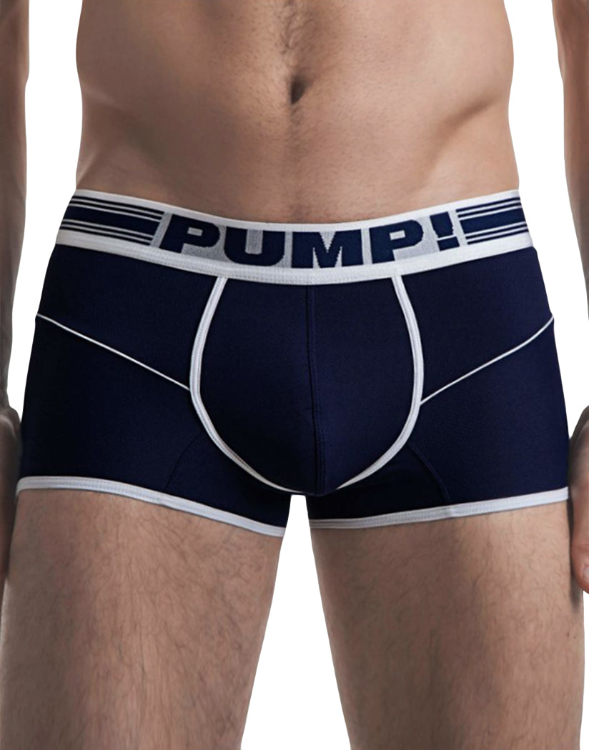 Navy Front PUMP! Free Fit Boxer Navy