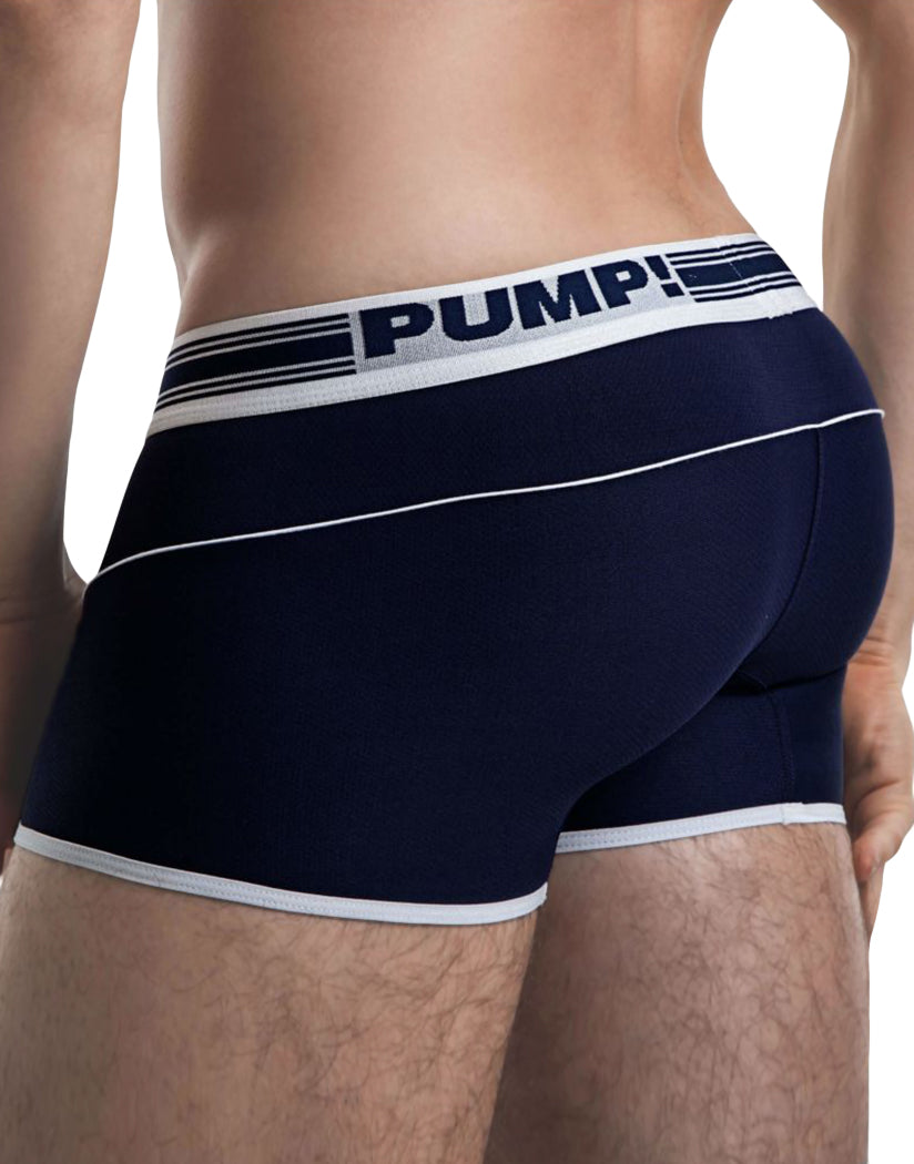 Navy Side PUMP! Free Fit Boxer Navy