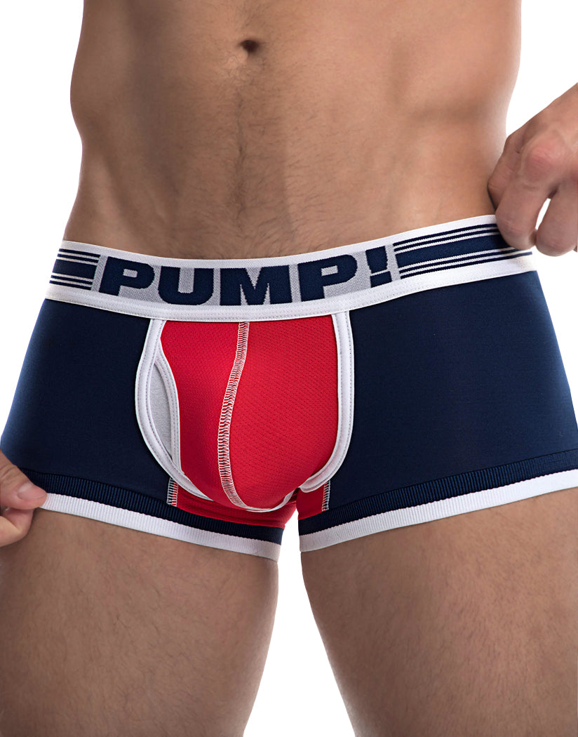 Navy/Red Front PUMP Academy Touchdown Trunk 11077