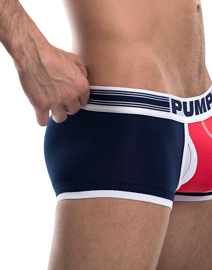 Navy/Red Side PUMP Academy Touchdown Trunk 11077