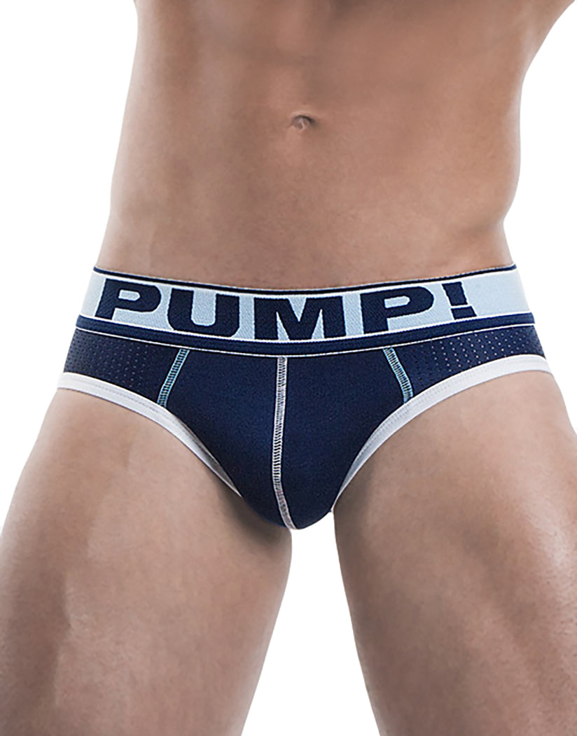 Blue Front Blue Steel Brief