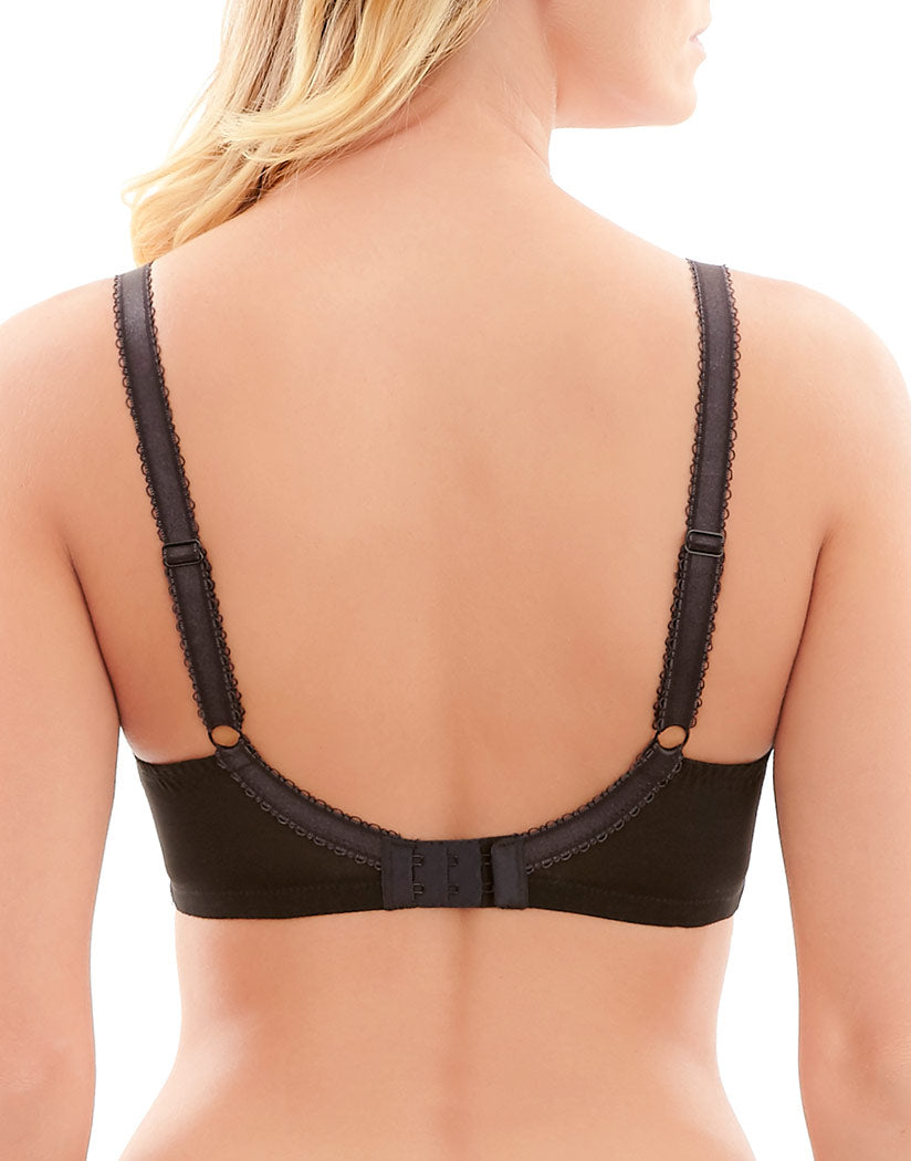 Black/Ruby Back Clara Full Cup Bra Black/Ruby
