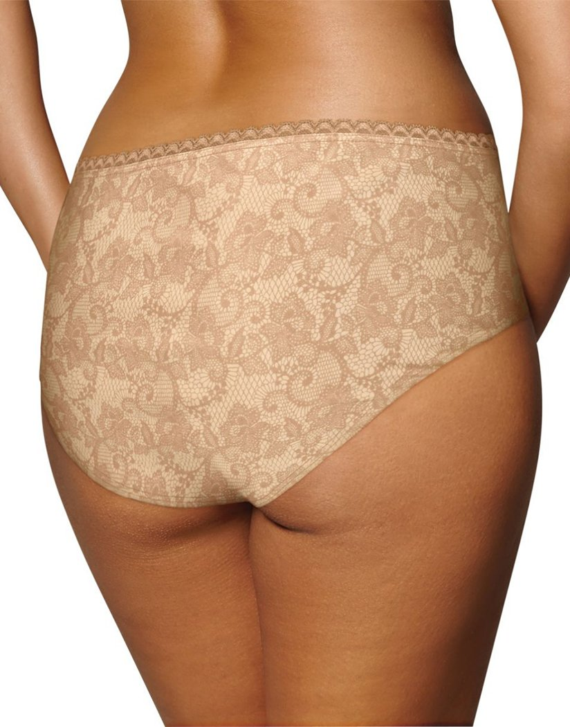 Light Beige Nude Print Back Playtex Incredibly Smooth Cheeky Hipster PSCHHL