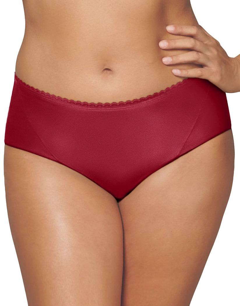 Scarlet Berry Front Playtex Incredibly Smooth Cheeky Hipster