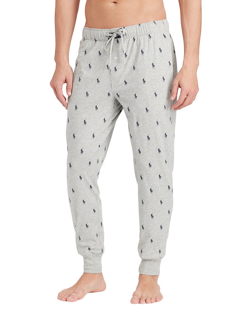 Andover Heather Front Polo Ralph Lauren All Over Polo Jogger Pant PK08