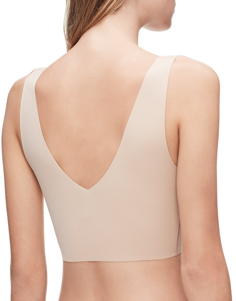 Bare Back Calvin Klein Women Invisibles V-Neck Bralette QF4708
